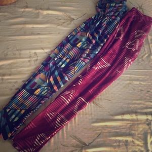 Lularoe One Size Abstract Leggings